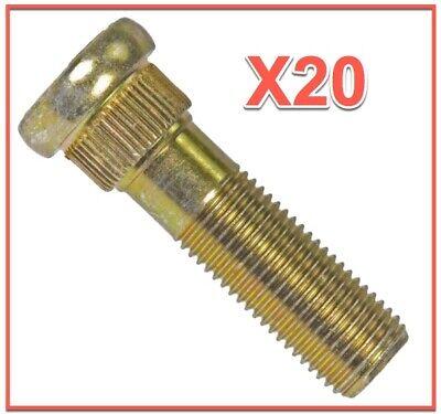 Set 20 Wheel Lug Studs Replace SUBARU OEM# 6105661 -