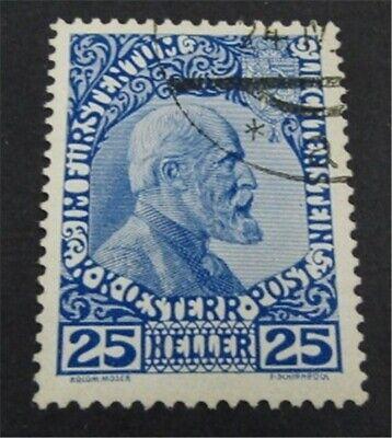 nystamps Liechtenstein Stamp # 3b Used $425   L23y598