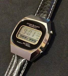 Citizen Crystron LC 1977 wristwatch *NEW* [very rare] Sydney City Inner Sydney Preview