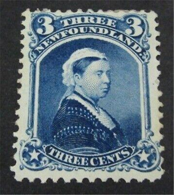 nystamps Canada NewFoundland Stamp # 34 Mint OG H UN$500 VF   L23y2864