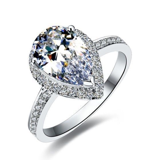 platinum diamond engagement ring - Extravagant Wedding Rings