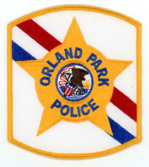 ORLAND PARK POLICE ILLINOIS IL PATCH SHERIFF
