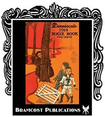 1914 Dennison's Bogie Book (Dennisons Vintage Halloween Games Party Decorating) - S Halloween Games