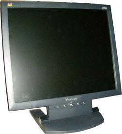 """VIEWSONIC 17"""" COMPUTER MONITOR"""