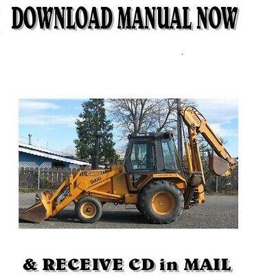 Case 580d Loader Backhoe Shop Service Repair Manual On Cd