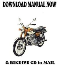 1968-71 Honda CB125 CL175 factory repair shop service
