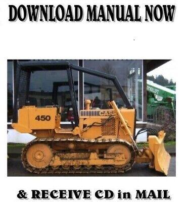 Case 450 Crawler Dozer Service Repair Shop Manual On Cd
