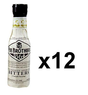 Fee Brothers Old Fashioned Aromatic Bitters - Case of 12 - Bar Bulk Drink Mixers