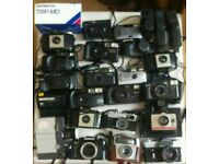 Joblot / collection of vintage cameras