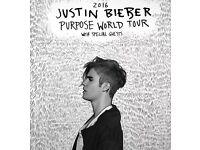 1 x Justin Bieber ticket in Birmingham