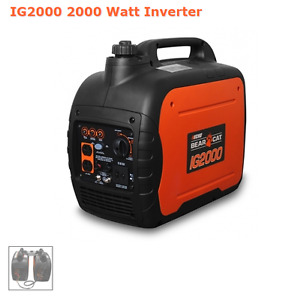 Bear Cat Brand New Generator/Invertor IG2000 with Warranty!SALE!
