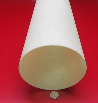 "2007 1 Unit Garolite Nema Canvas Tube 1//2/"" OD x 1//4/"" ID x 1//8/"" Wall"