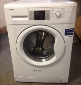 99 Beko WMB81241 8kg 1200 Spin White LCD A+ Rated Washing Machine 1 YEAR GUARANTEE FREE DEL N FIT
