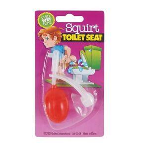 Squirt Toilet Seat Bathroom Prank Toy Joke Trick Funny Gag