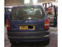 Vauxhall Zafira O/S Rear Light Breaking For Parts (2002)