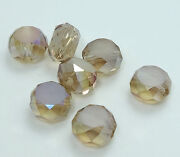 8mm Rondelle Glass Beads