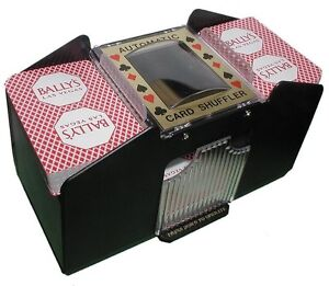 6 deck card shuffler free shipping