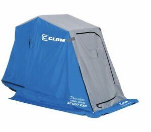 LF: Thermal Clam Ice Fishing Hut