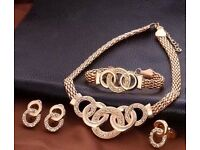Olympia gold plated 4pc set