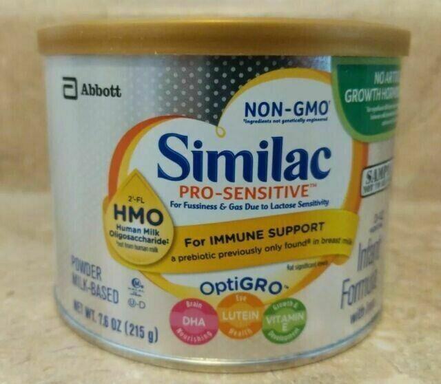 Similac Pro-Sensitive (136.8oz) Baby Formula Similac 18 Lot Of Cans
