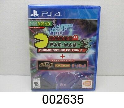 **NEW** Bandai Namco PS4 GAME PAC-MAN CHAMPIONSHIP EDITION 2 + ARCADE
