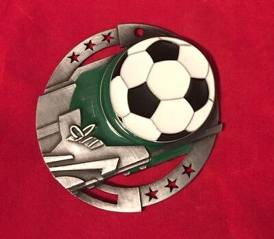 SOCCER  FULL COLOR CHRISTMAS ORNAMENT PERSONALIZED FREE SHIPPING