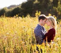 Outdoor engagement photography sessions starting at $75