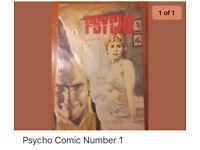 Psycho comic number 1