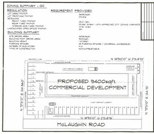 Vacant commercial lot in town! 60 MCLAUGHLIN RD, Lindsay, ON Kawartha Lakes Peterborough Area image 5