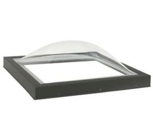 4x8 flat roof skylight