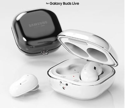 Samsung Official Partner Galaxy Buds Live Earphones Clear Case Cover