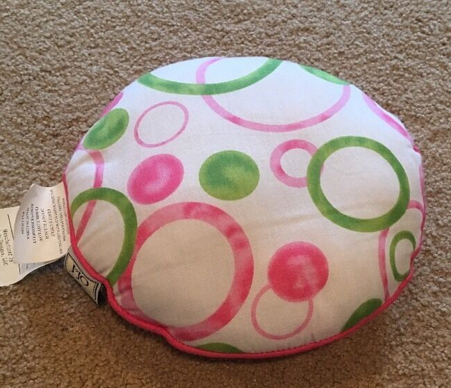 DECOR PILLOW FOR SWEET JOJO POLKA DOT CIRCLES MOD BABY KID BEDDING
