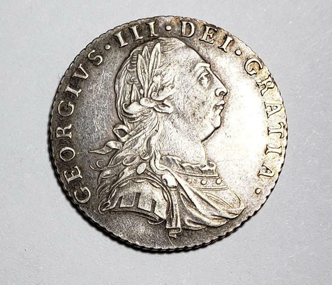 1 Shilling George III 1787 Great Britain w/o Hearts