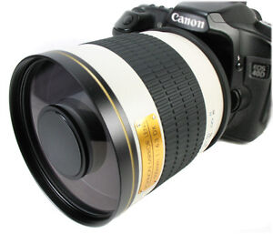 Powerful 500mm f/6.3 Mirror Lens for Canon FD SLR Mount AE-1 AE-1 Program