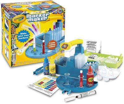 Crayola Marker Maker Pen Ink Art Craft Toy Set Brand New