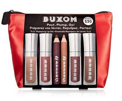 BUXOM POUT PLUMP GO Sexy Plumping Lip Set PlumpLine Liner Li