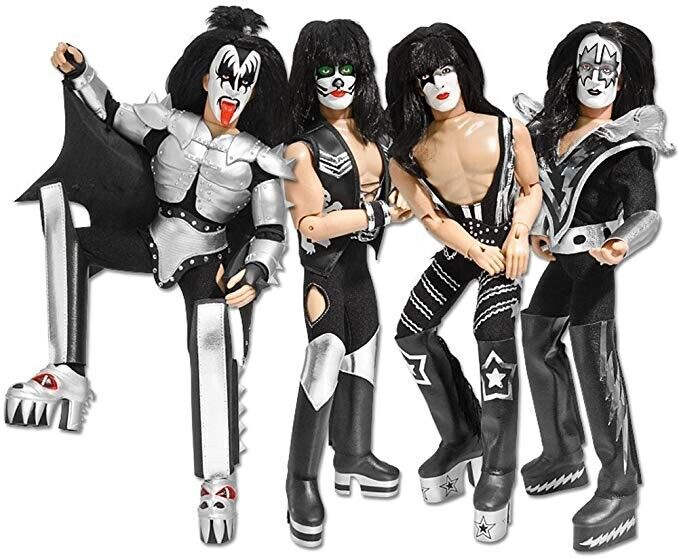 KISS 12 Inch Action Figures Series Three Sonic Boom: Set of all 4 LOOSE Figures