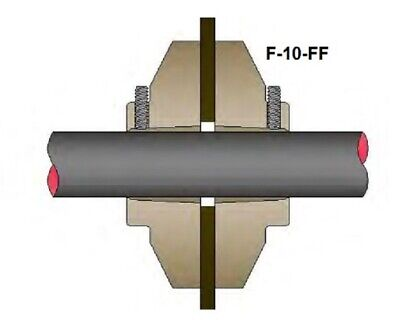 Bravo Frp Flange Fitting For Single Wall Frp Sumps Only F-10-ff
