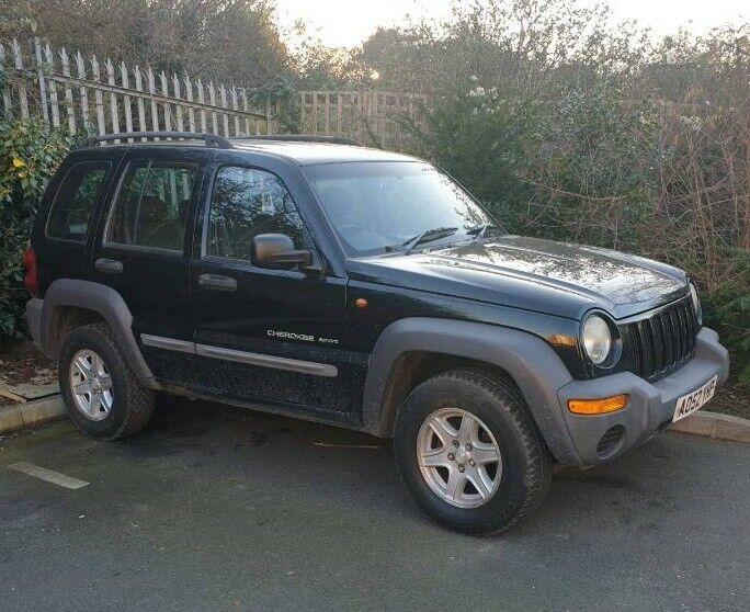 670e575120 Jeep Cherokee 2002 2.4 Petrol