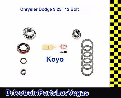 "USA Standard Dodge Chrysler 9.25"" Rear End Pinion Install Kit Koyo Bearings OE"