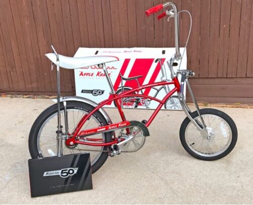 Schwinn Stingray Apple Krate Bicycle Special Edition 50th Anniversary