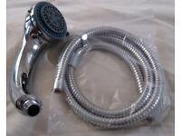 BRAND NEW shower head & 1.4m hose