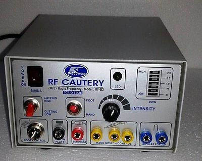 New Electro Surgical Generator 2 Mhz Dental Procedures Ophthalmology Cautery