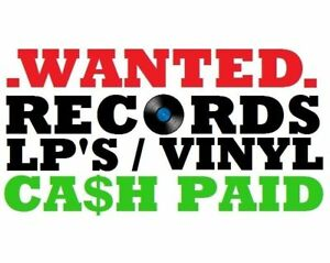 WANTED/BUYING LP/RECORD COLLECTIONS SOUTH SHORE + AREAS