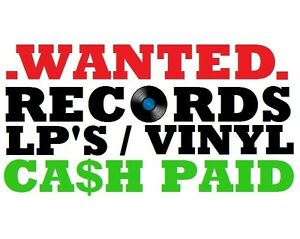 WANTED - VINYL LP RECORDS - PUNK ROCK METAL - TOP DOLLAR PAID!!!! Blacktown Blacktown Area Preview