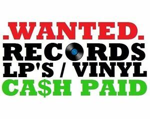 WANTED /BUYING LPS/RECORDS/VINYL FAIR PRICES PAID