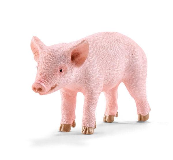 Schleich 13783 Piglet Model Farm Animal Pig Toy - NIP