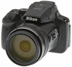 83x Zoom Nikon Coolpix P900 + Lens Filter + 64GB Memory Card