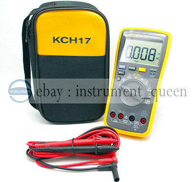 Fluke 18b Digital Multimeter Meter Led Test With Soft Case Brand New F18b