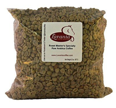 LAVANTA COFFEE GREEN ROAST MASTERS SPECIALTY BLEND TWO POUND PACKAGE